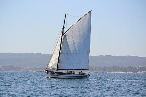 Sailboat, Boat, Sea, Summer, Fisherman