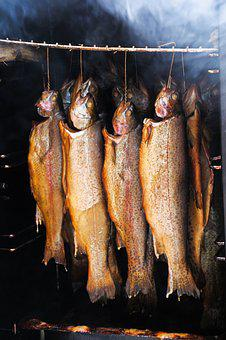 Fish, Smoked Fish, Smoked, Fishing, Smoking, Delicacies