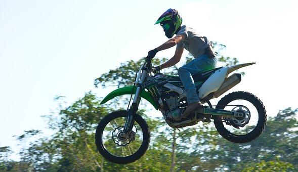 Motocross, Jump, Airborne, Dirtbike, Speed, Race, Epic