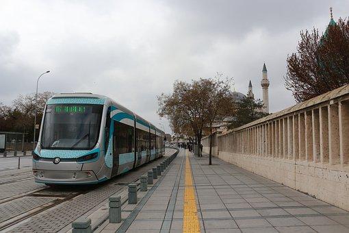 Tram, Transportation, Transport, Skoda, Konya Tram, Ray