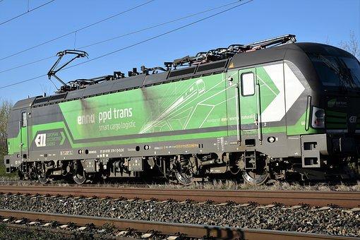 Electric Locomotive, Transportation, Transit, Transport