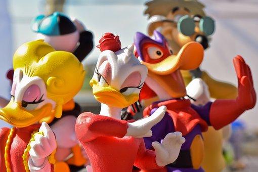 Figures, Walt Disney, Comic, Funny, Cute, Minnie