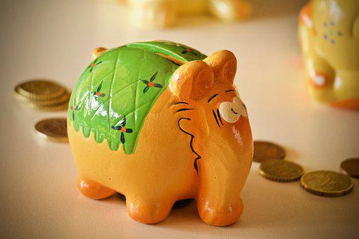 Money Box, Money, Saving, Coin, Wealth, Invest