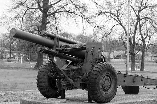 Military, Equipment, Weapon, Artillery, Cannon, History