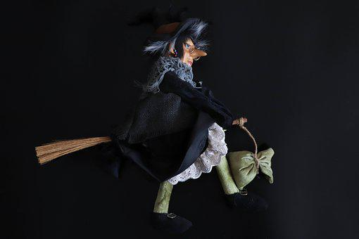 Witch, Baby Doll, Halloween, Fear, Toys, Costume