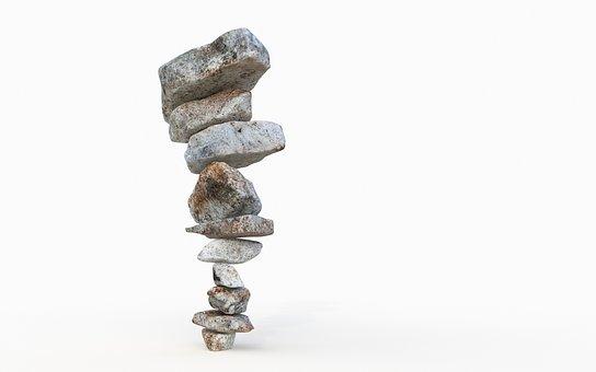 Balance, Hierarchic, Structure, Balancing, Pebbles