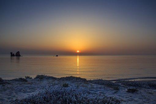 Dawn, Sunrise, Nature, Beach, Sky, Landscape, Outdoors