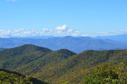 Great Smokey Mountains, North Carolina, Blue Ridge