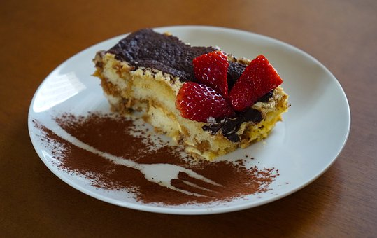 Tiramisu, Sweet, Dessert, Cake, Chocolate, Delicious