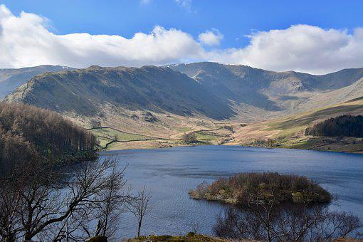 Haweswater Reservoir, Lake District, England