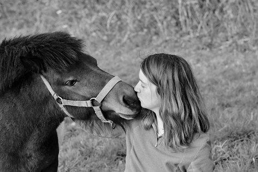 Kisses, Kiss, Girl Pony, Tenderness Affection