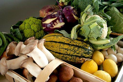 Vegetables, Farmers Local Market, Kohl, Bio, Food, Eat