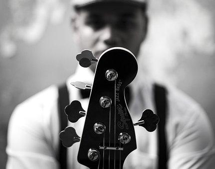 Music, Musically, Vintege, Bass, Baixo, Guitar, Fender