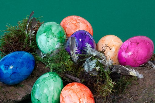 Egg, Colorful, Easter Eggs, Easter Nest, Easter, Paint