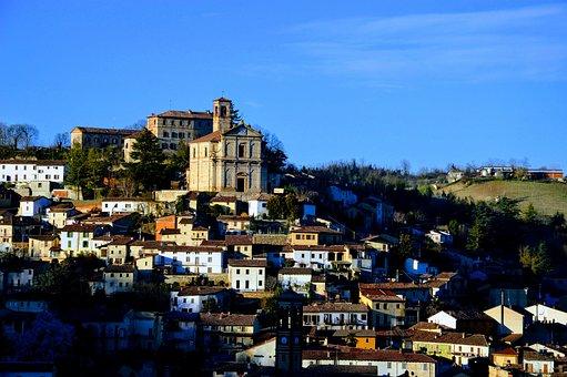 Ottiglio, Country, Monferrato, Church, Piemonte, Italy