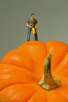 Pumpkin, Vegetable, Vegetables, Halloween, Autumn