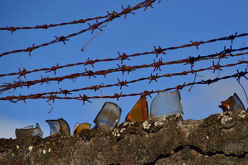 Wire, Security, Fence, Metal, Iron, Protection, Jail