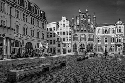 Stralsund, Historic Center, Old Market, Historically