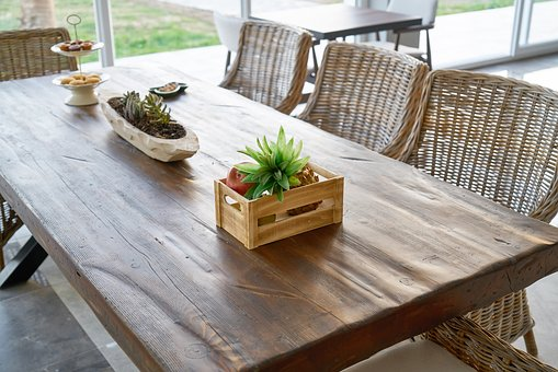 Table, Wood-fibre Boards, Wood, Furniture, Food, Chair