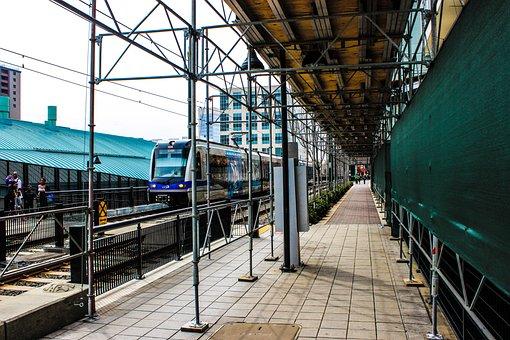 Train Track, Light Rail, Transport, Travel, Traffic