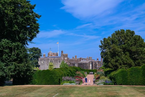 Castle, Castle Park, Schlossgarten, Walmer Castle