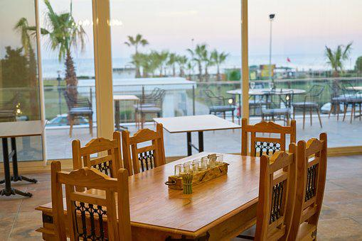 Hotel, Holiday, Table, Room, Wood, Wood-fibre Boards