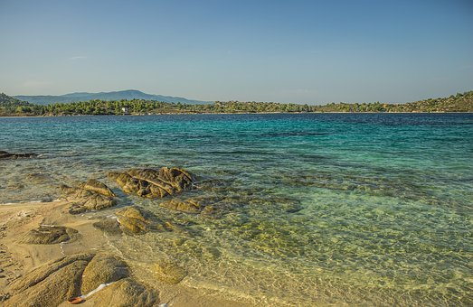 Aquamarine, Bay, Beach, Beautiful, Beauty, Blue, Bright