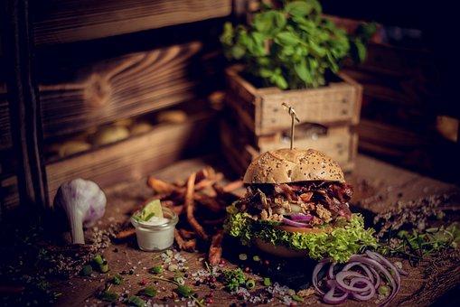 Hamburger, Cheeseburger, Burger, Grill, Fast Food