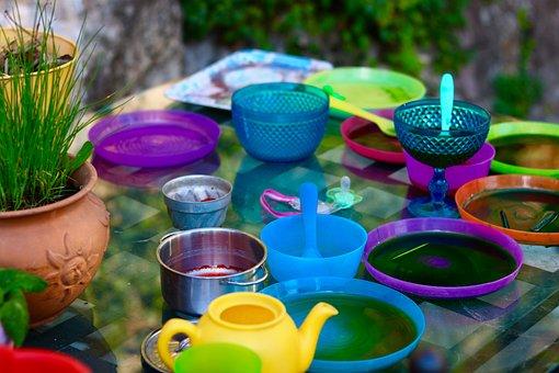Plastic, Garden, Tableware, Outdoor, Child, Children