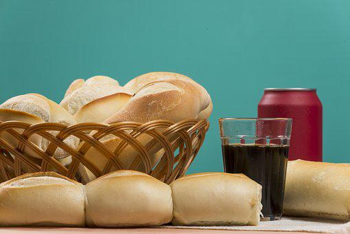 Bread, French, Basket, Bakery, Breakfast, Food, Meal