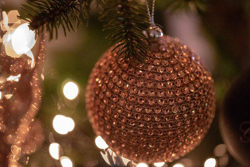 Christmas Bauble, Christmas, Green, Decoration