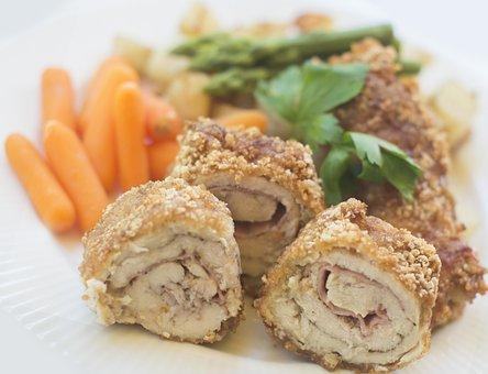 Chicken, Vegetables, Food, Delicious, Healthy