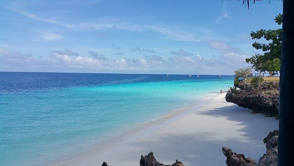 Zanzibar, Africa, Tanzania, Beach, Sea, Holiday