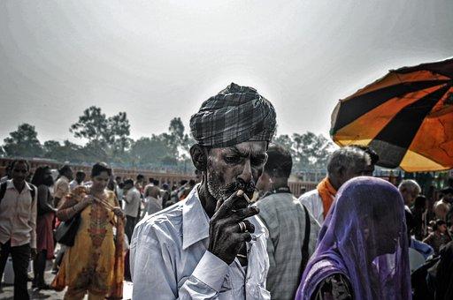 Portrait, Haridwar, Religious, Ganga, Indians