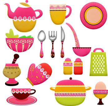 Pots And Pans, Kitchen Utensils, Cooking, Chef, Pot
