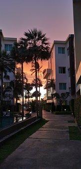 Sunset, Thailand, Krabi, Asia, Sky, Evening, Travel