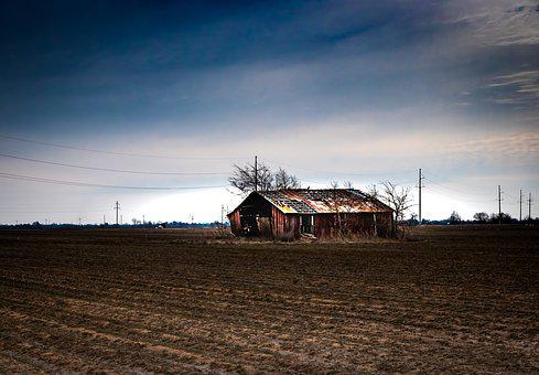 Barn, Rural, Farm, Countryside, Country, Landscape