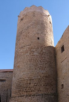 Tower, Castle, Circular, Medieval, Architecture