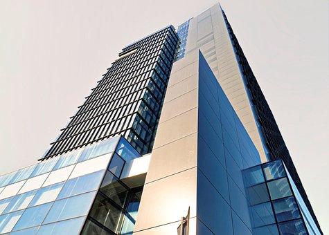 Building, High, Architecture, Modern, City, Facade