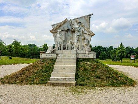Pan-european Picnic, Monument, Statue, Park, Sculpture