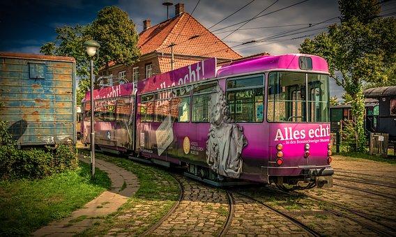 Tram, Dare, Rails, Transport, Traffic, Train, Public