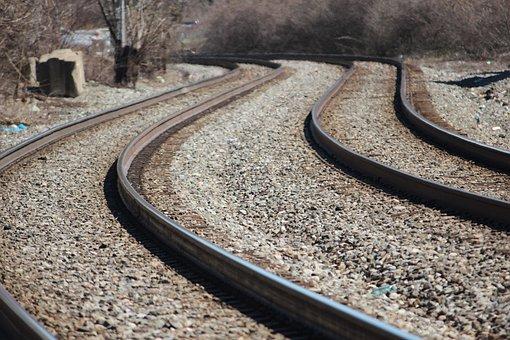 Railroad Tracks, Train Tracks, Rail, Rails
