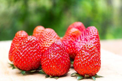 Strawberry, Red, Fruit, Summer, Eat, Food, Fresh