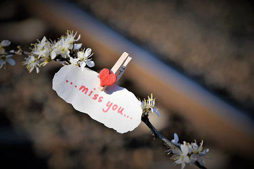 Message, Lost Love, Red Heart, Rail, Remembering