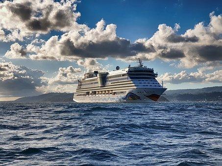 Aida, Ship, Sea, Cruise, Cruise Ship, Vacations, Travel