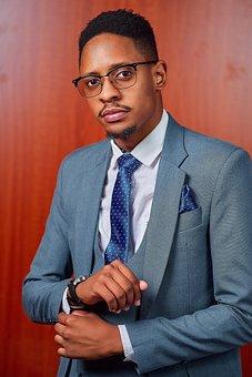 Serious, Suit, Corporate, Smart, Boy, Tech, Smile, Tie