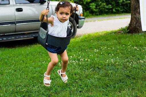 Baby, Kid, Children, Child, Swing