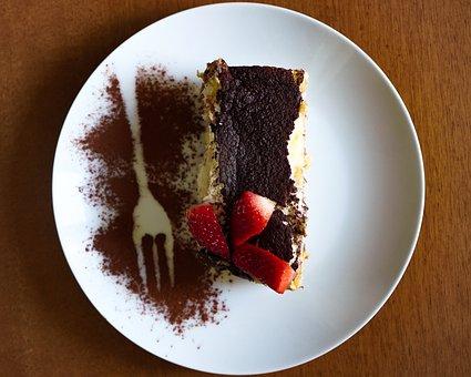 Tiramisu, Sweet, Dessert, Cake, Chocolate, Delicious