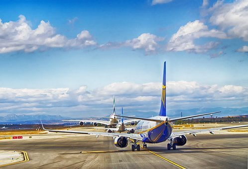 Aircraft, Taxiing, Runway, Transport, Plane, Jet