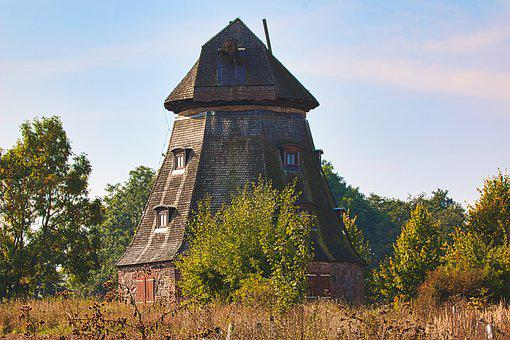 Windmill, Lost Place, Old, Forget, Decay, Ruin